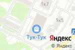 Схема проезда до компании Мувинг Сервис в Москве