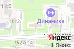 Схема проезда до компании Первая логистическая компания в Москве