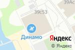 Схема проезда до компании Крав Мага Камам в Москве