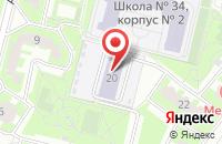 Схема проезда до компании Детский сад №19 в Подольске