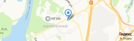 Дом Шашлыков на карте Химок