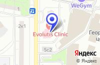 Схема проезда до компании СОЦИОЛОГИЧЕСКАЯ СЛУЖБА КАССАНДРА в Москве