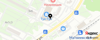 ДКП на карте Москвы