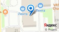 Компания Мебельный рай на карте