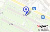 Схема проезда до компании ОДС № 13 в Москве