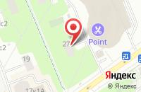 Схема проезда до компании Лако в Москве