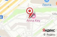 Схема проезда до компании Армониа Интерна в Москве
