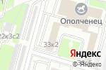Схема проезда до компании Налог-Сервис, ФКУ в Москве