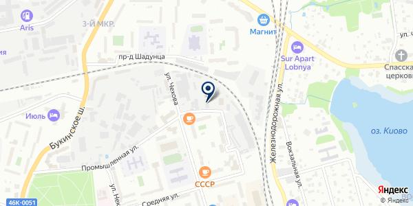 ПРЕДПРИЯТИЕ ЛИФТОВОГО СЕРВИСА ЭЛИТ ЛИФТ на карте Лобне