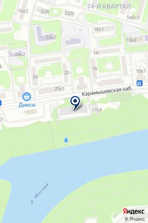 ТФ ISOVER на карте Москвы