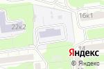 Схема проезда до компании Средняя общеобразовательная школа №1010 в Москве