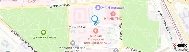Сосновая улица