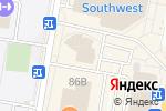 Схема проезда до компании Goddess в Москве