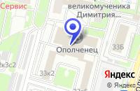 Схема проезда до компании ОТДЕЛЕНИЕ ХОРОШЕВО-МНЕВНИКИ в Москве