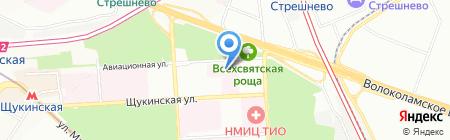Абител Групп на карте Москвы