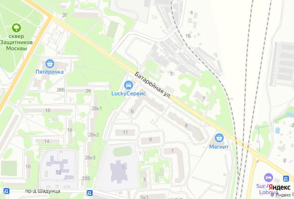 жилой комплекс ул. Батарейная, д. 6