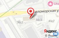 Схема проезда до компании Макром в Москве