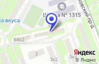 Схема проезда до компании ТФ СЛОВЯНИН в Москве