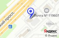 Схема проезда до компании ПРОИЗВОДСТВЕННАЯ КОМПАНИЯ ФЕСТО-РФ в Москве