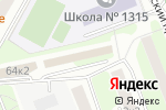 Схема проезда до компании Инвест-Групп в Москве