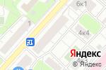 Схема проезда до компании Р-Альфа лаб в Москве