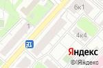 Схема проезда до компании Станко-ЭксИм в Москве