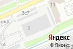 Схема проезда до компании Кастанаевский-3 в Москве