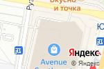 Схема проезда до компании Velvet в Москве