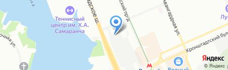 Арсенал на карте Москвы