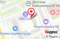 Схема проезда до компании Андивэй в Москве