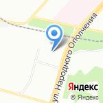 Красное & Белое на карте Москвы
