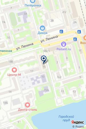 МОСЭНЕРГОМОНТАЖ-2 на карте Лобни
