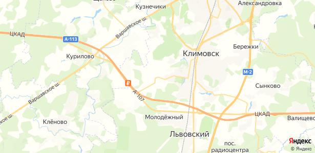 Сертякино на карте