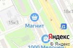 Схема проезда до компании Руссаб в Москве