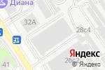Схема проезда до компании Гаражно-строительный кооператив №5 в Москве