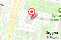 Схема проезда до компании Линзомат в Подольске