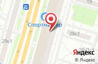 Схема проезда до компании Управление в Москве