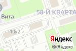 Схема проезда до компании Commax в Москве