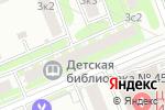 Схема проезда до компании Детская библиотека №35 в Москве