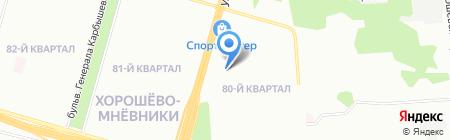 Банкомат Банк ВТБ 24 на карте Москвы