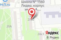 Схема проезда до компании Нпо Регион в Москве