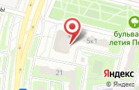 Схема проезда до компании elizabett в Подольске