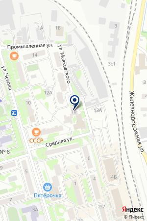 МЕБЕЛЬНЫЙ МАГАЗИН СПУТНИК на карте Лобни