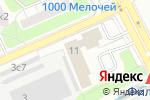 Схема проезда до компании Столичный Адвокат в Москве
