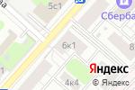 Схема проезда до компании ЭлКорд в Москве