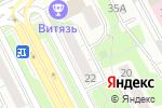 Схема проезда до компании Магазин тканей и швейной фурнитуры в Москве
