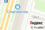 Схема проезда до компании Эталон Оценка в Москве