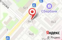 Схема проезда до компании Дизайн-Дос в Москве
