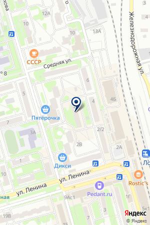ЦВЕТОЧНЫЙ МАГАЗИН ХРЕНОВ А.П. на карте Лобни