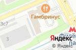 Схема проезда до компании РН-Печора СПГ в Москве